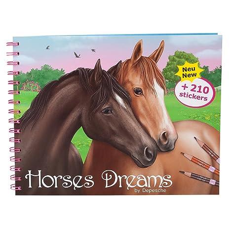 Depesche Libro Da Colorare Style Your Horse Amazon It Giochi E