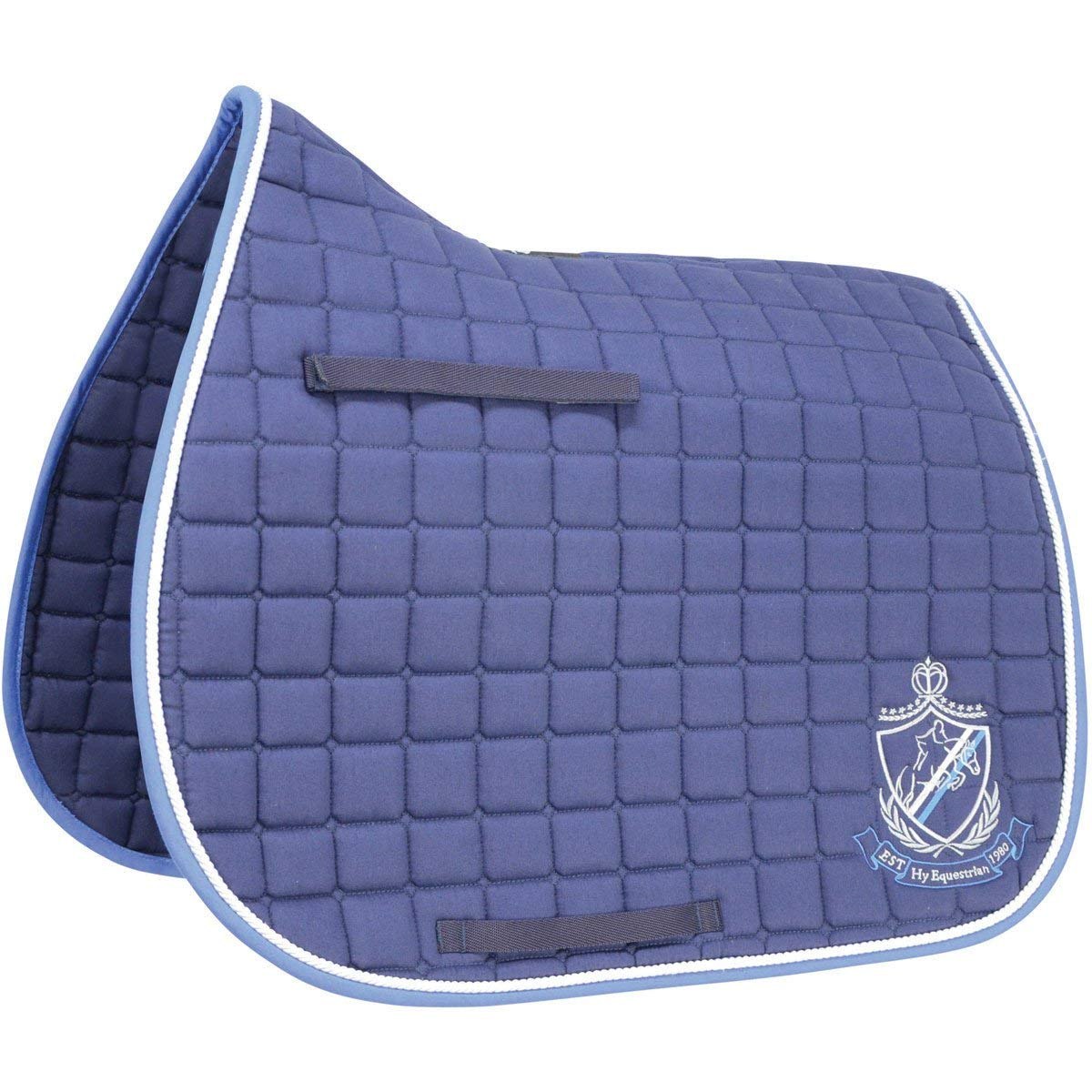 HySpeed Equestrian Saddle Pad Pony Navy bluee