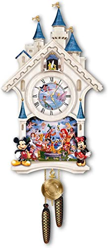 The Bradford Exchange Disney Character Cuckoo Clock Happiest of Times