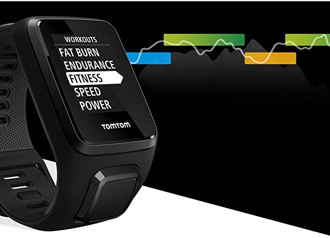 Amazon.com: Tomtom Spark 3, GPS Fitness Watch and Activity Tracker (Black, Small): Cell Phones & Accessories