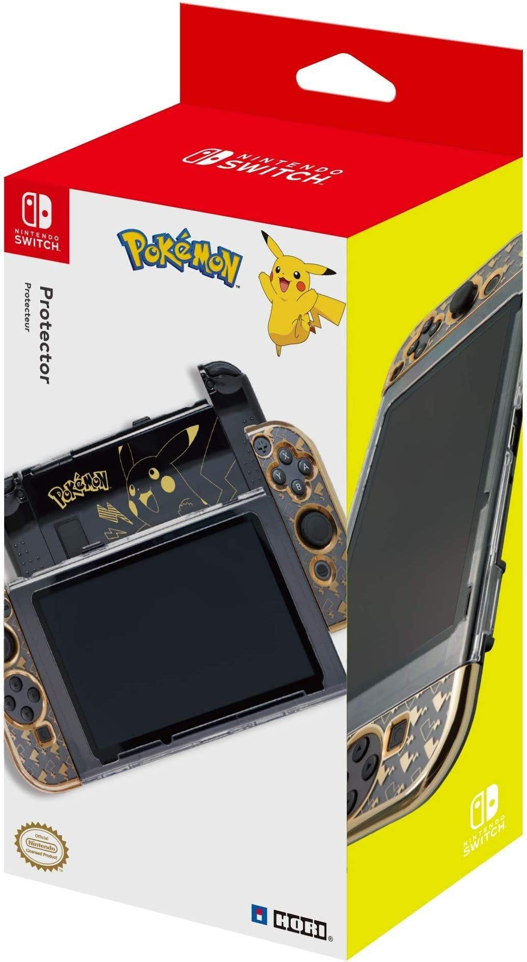 Amazon.com: HORI Nintendo Switch Pikachu Protector ...