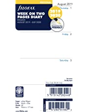 Filofax 2020 Personal/Compact Academic Week to View Refill, Aug 2019 - July 2020, 6.75 x 3.75 inches (C68452-20)
