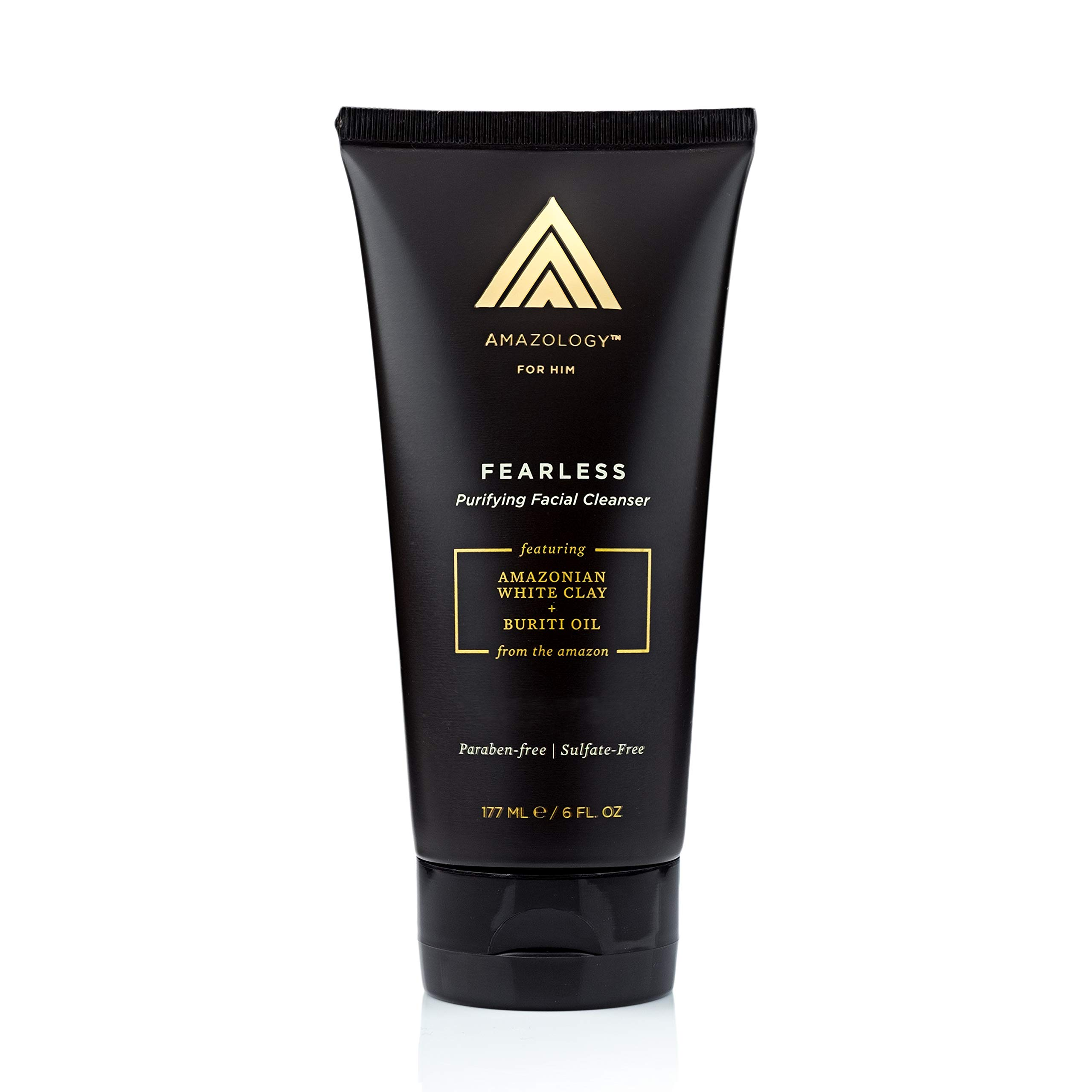 amazology reclaim mens anti-aging eye repair gel, 0.5 oz AcneFree Energizing Iced Orange & Mint Acne Face Wash & Scrub, 4.8 oz