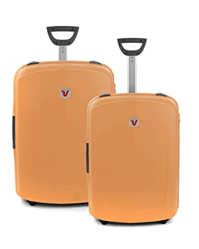 New Shuttle Juego de Maletas, 140 Liters, Naranja (Ambra): Amazon.es: Equipaje