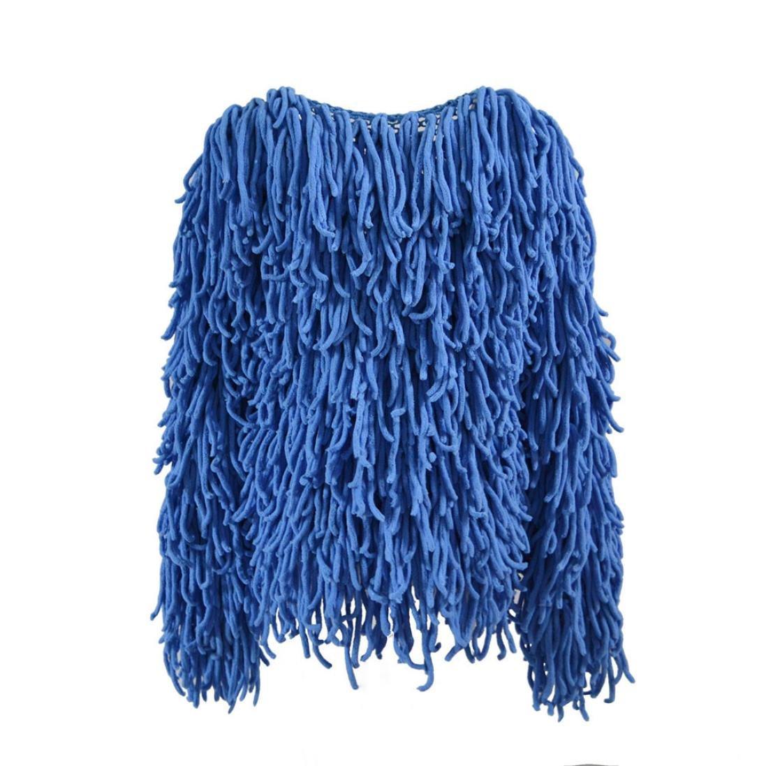 Kanpola Women s Winter Warm Oversized Fur Outwear Chaqueta de Abrigo Peludo Knit Cardigan para Mujer: Amazon.es: Ropa y accesorios
