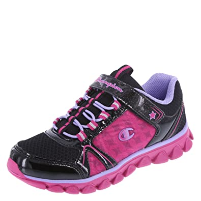 a6dc4a31d61bc Champion Girls  Black Pink Girls  Capri Runner 10.5 Regular