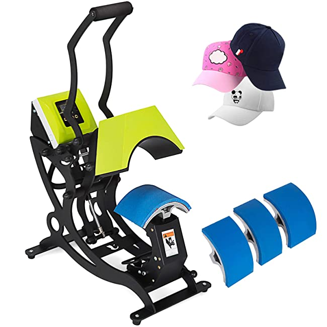 Best Hat Heat Press for Home Use: Mophorn 4 in 1 Hat Press