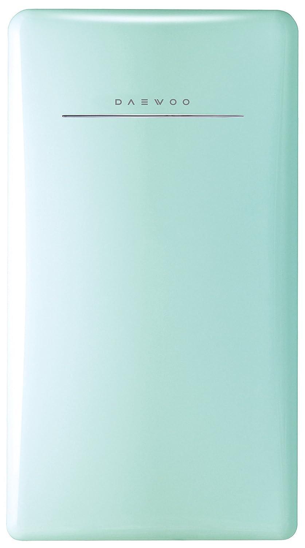 Daewoo FR-044RCNM Retro Compact Refrigerator 4.4 Cu. Ft. | Mint Green