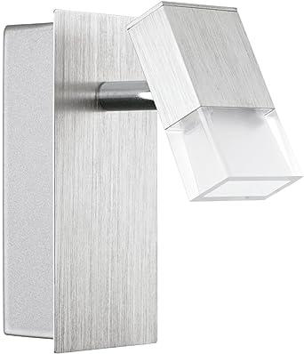 Foco LED Moderno (plano, 510 lúmenes) Salón – Foco de pared (Bombilla de bajo – Foco de pared LED de lámpara bombilla: Amazon.es: Iluminación