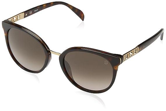 Tous Mujer STO997 Gafas de sol, Marrón (Shiny Dark Havana ...