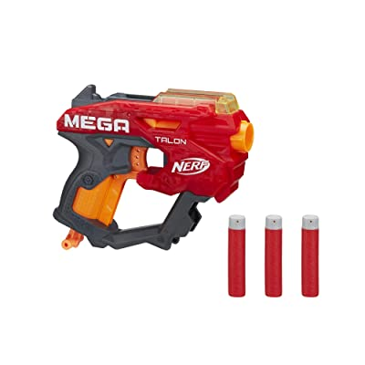 NERF Mega Talon Blaster -- Includes 3 Official Accustrike Mega Darts -- for Kids, Teens, Adults: Toys & Games