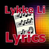 Lyrics for Lykke Li