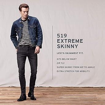 2ed74099ba Levi s Men s 519 Extreme Skinny Fit Jean at Amazon Men s Clothing store