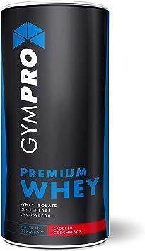 Gympro - Proteína de suero premium, polvo con 88% de contenido de proteína pura, 1000 gy 2500 g