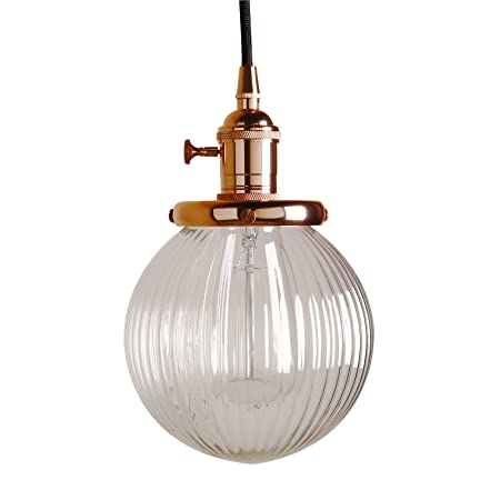 Pathson vintage industrial kitchen island copper pendant ceiling pathson vintage industrial kitchen island copper pendant ceiling light fittings ribbed glass light shade copper aloadofball Image collections