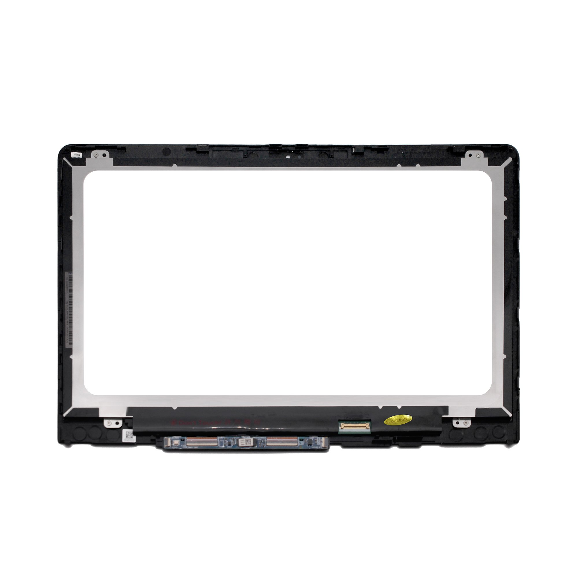 LCDOLED Replacement 14 inches HD 1366x768 LCD Touch Screen Digitizer Assembly Bezel with Board for HP Pavilion x360 14-ba000 14-ba100 14m-ba000 14m-ba100 14m-ba013dx 14m-ba015dx 14-ba110nr 14-ba175nr by LCDOLED (Image #2)