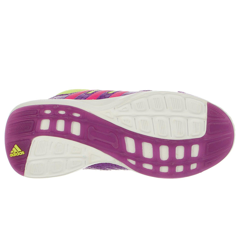 timeless design b2ea5 e793c Galleon - Adidas Performance Girls Hyperfast 2.0 K Running Shoe, Shock  PurpleShock PinkElectricity, 6.5 M US Big Kid