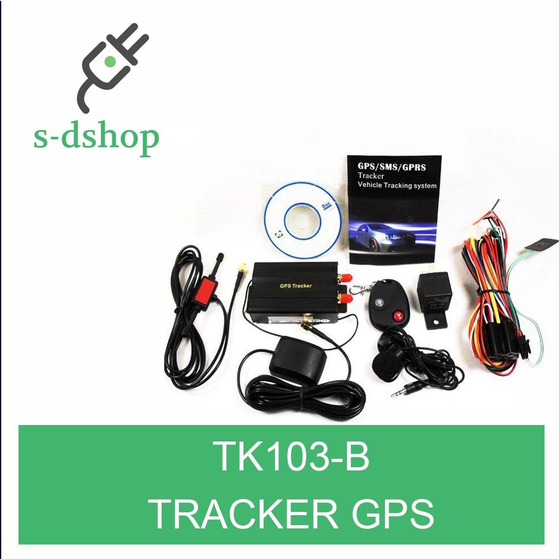 S-D SHOP - TK103-B LOCALIZZATORE GPS GOOGLE MAPS ANTIFURTO AUTO MOTO TRACKER