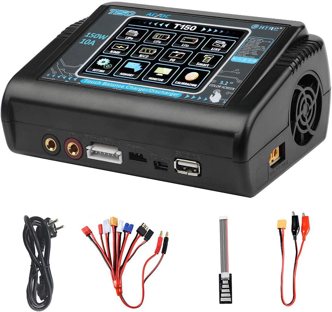 DEANS T Connettore Batteria Tester A LED CON PORTA USB ricarica carica