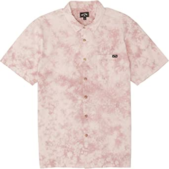 BILLABONG Sundays Tie Dye SS - Camisa para Hombre: Amazon ...