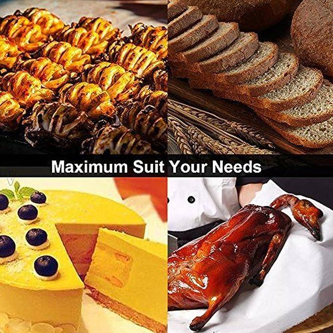 ... para hornear y cocinar, cerdas de silicona con mango de acero inoxidable hueco, pack de 2 tamaños, 12 pulgadas/7 pulgadas, salsa de soja, aceite, crema, ...