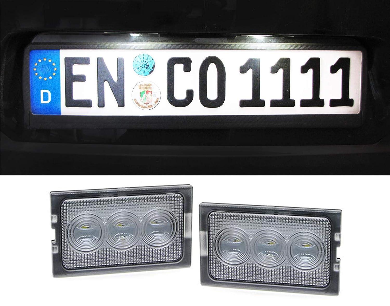 LED KENNZEICHENBELEUCHTUNG WEISS 6000K Carparts-Online GmbH