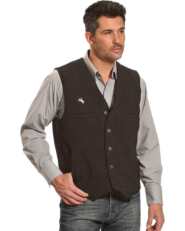 Wyoming Traders Men's Wool Vest - Vb-Black 2000235542