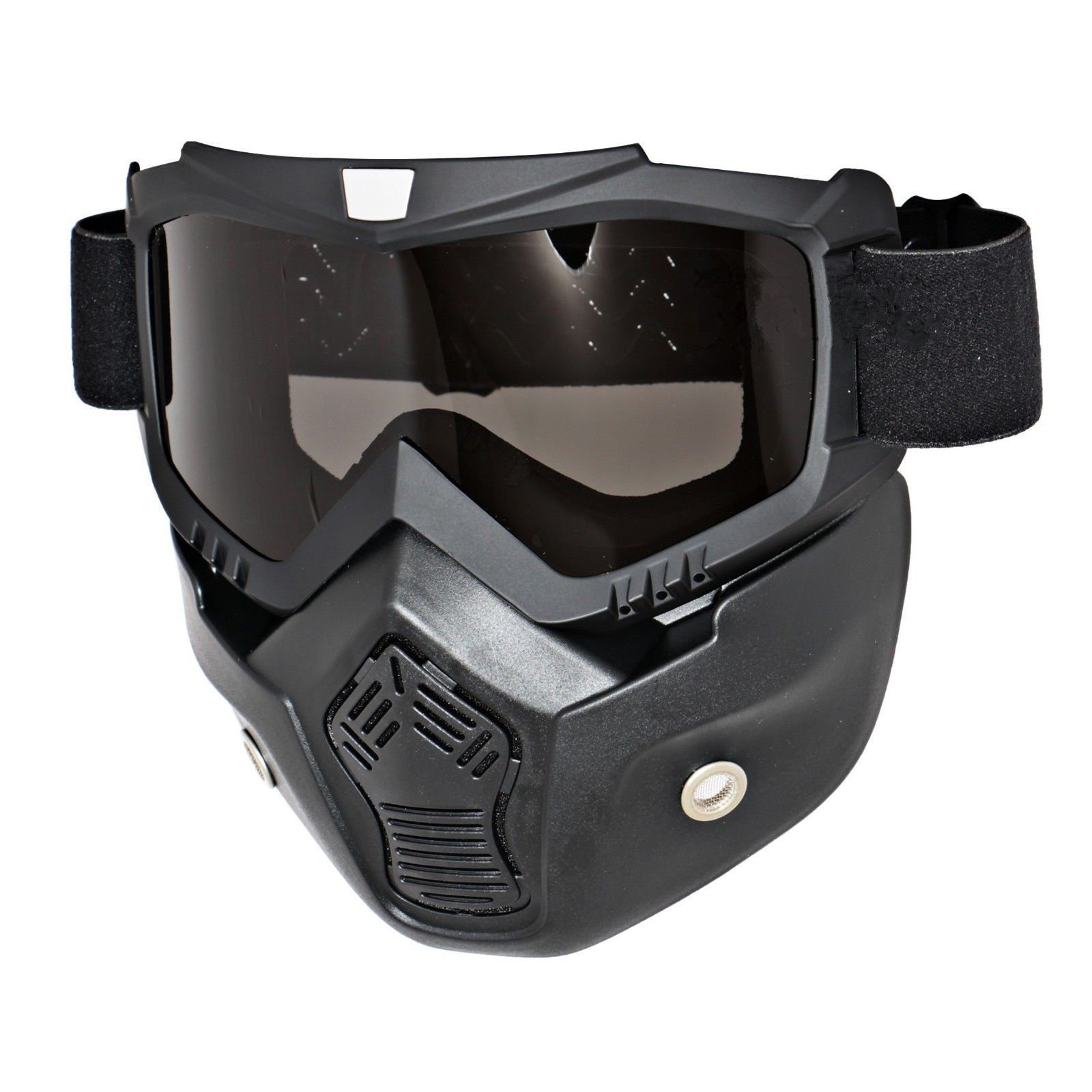Triclicks Modular Motorcycle Riding Helmet Open Face Mask Shield Goggles Detachable by Triclicks (Image #1)