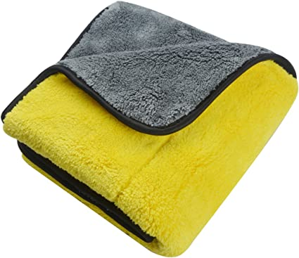 Ultra Thick Microfiber Plush Towel Cleaning No-Scratch Rag Polishing Detailing