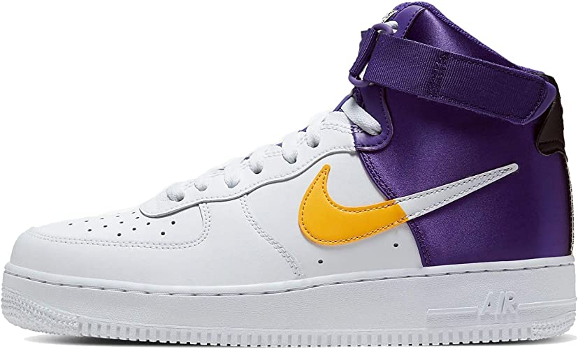 Amazon.com: Nike Air Force 1 NBA - Zapatillas altas para ...