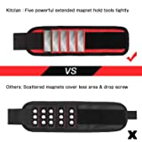 Magnetic Wristband, Kitclan Magnet Wristband with 5