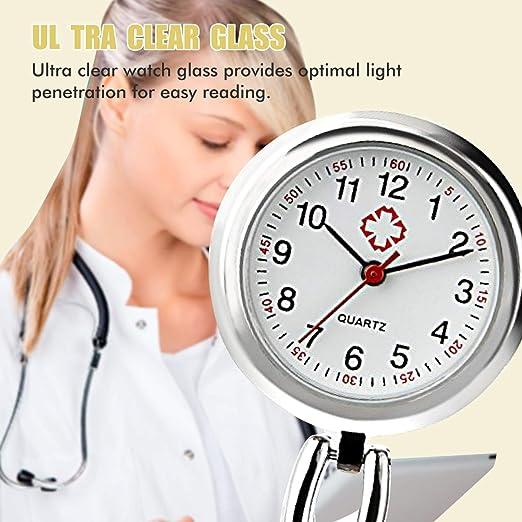Reloj de Enfermera, Relojes de Cuarzo Impermeable, médico Relojes ...