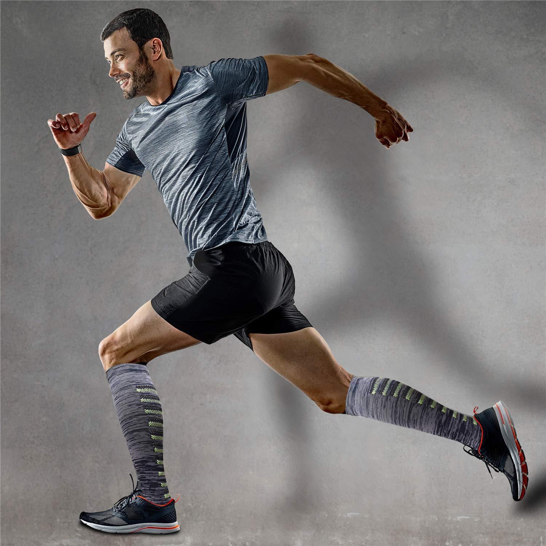 for Women /& Men Sooverki 6//8 Pack Compression Socks 15-20mmHg Best Medical,Running,Travel,Nurse Socks