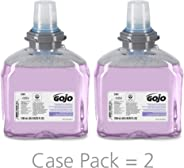 GOJO Premium Foam Handwash with Skin Conditioners, Cranberry Scent, EcoLogo Certified, 1200 mL Foam Hand Soap Refill for GOJO
