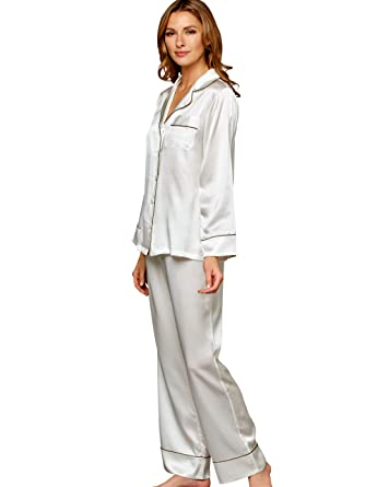 7d7bc34cb8 Julianna Rae Women s Paradise Found 100% Silk Pajamas