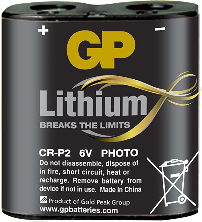 Gp Photo Lithium Batterie Crp2 Elektronik