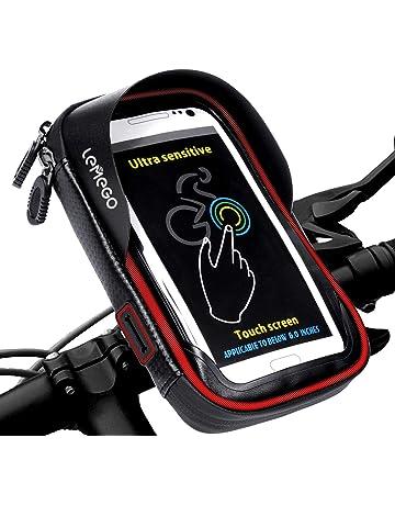 LEMEGO Bolsa Bicicleta Manillar para Ciclista Ciclismo bceeb4c0543