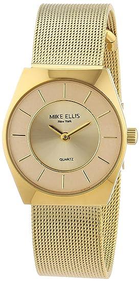 Mike Ellis New York L1126AGM 1 - Reloj analógico de cuarzo para mujer 48c8ea372d3b