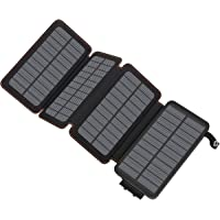 Solar Charger 25000mAh, Hiluckey Portable Power Bank with Dual USB Ports Waterproof Battery Charger for Smartphones and…