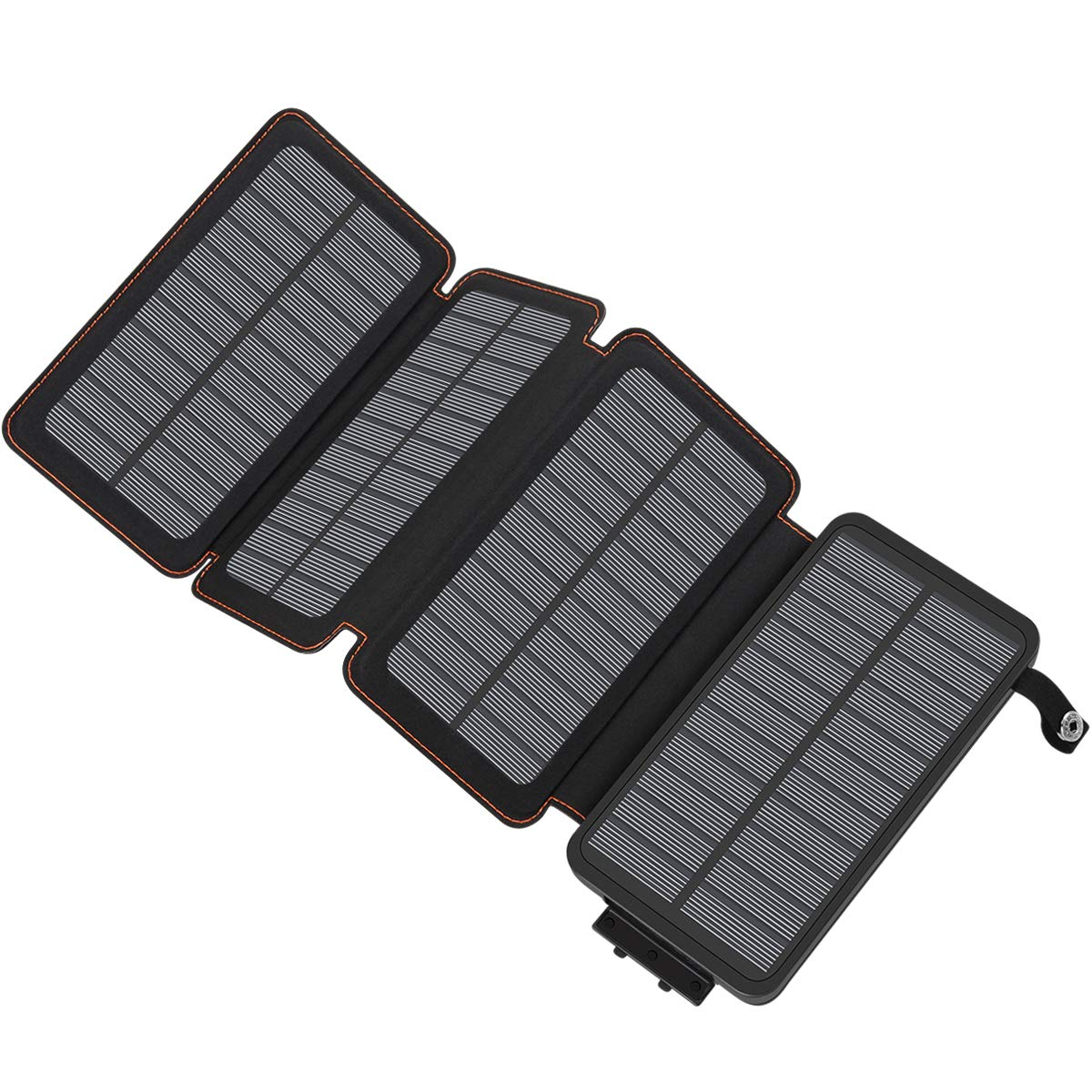 Solar Charger 25000mAh, Hiluckey Portable Power Bank with Dual USB Ports Waterproof Battery Charger for Smartphones and Tablets