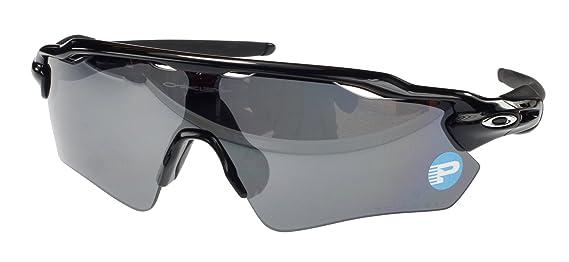 Oakley Radar EV Path polarizadas Gafas de Sol, oo9208 - 07, Negro Pulido, Negro Iridium polarizado Lente, Gran Ajuste: Amazon.es: Deportes y aire libre