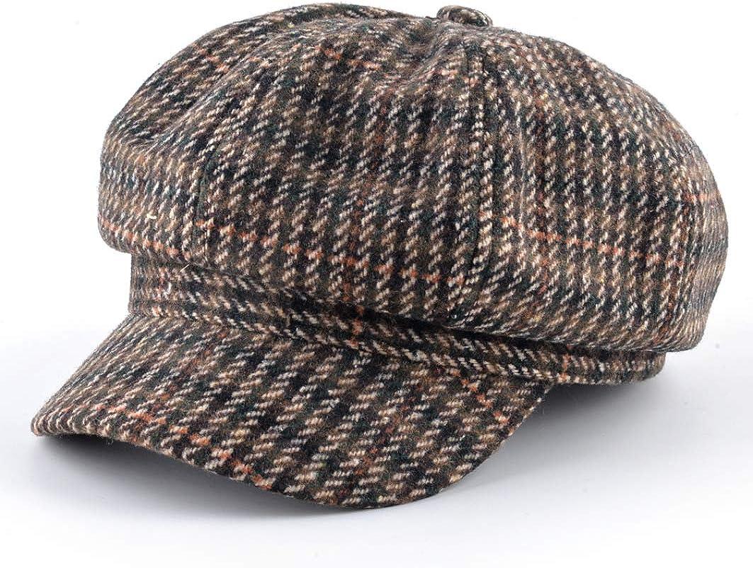 Unisex Vintage Newsboy Cap...
