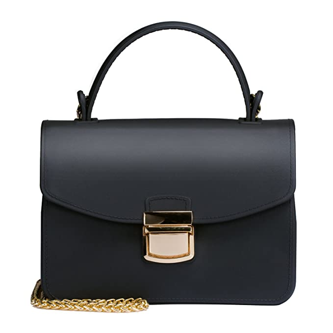 8f892e3fd2a3 Top Handle Clutch Handbags Jelly Crossbody Bags for Women Tote Purse - Black