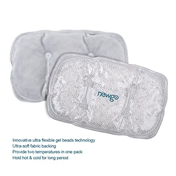 Newgo - Almohadilla de gel de frío para congelador, suave ...