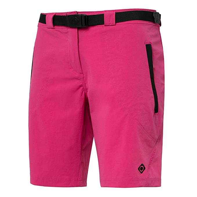 Amazon.com : Izas Womens Mesa Hiking Shorts, Fuxia/Black, X ...