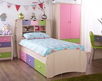 Marvelous Sydney Single Cabin Bed Including 3 Drawers Pink Childrens Download Free Architecture Designs Pushbritishbridgeorg