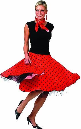 Funny Fashion 508046D - Disfraz de rockero para mujer: Amazon.es ...