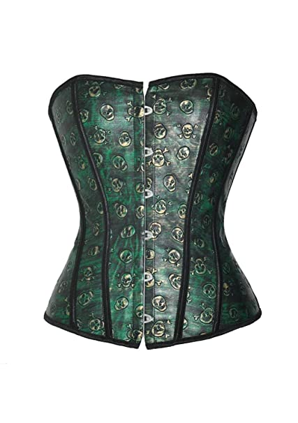 Sexy green corset