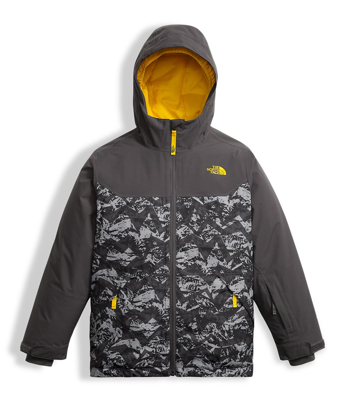 The North Face Big Boys' Brayden Insulated Jacket - graphite grey, l/14-16 by The North Face