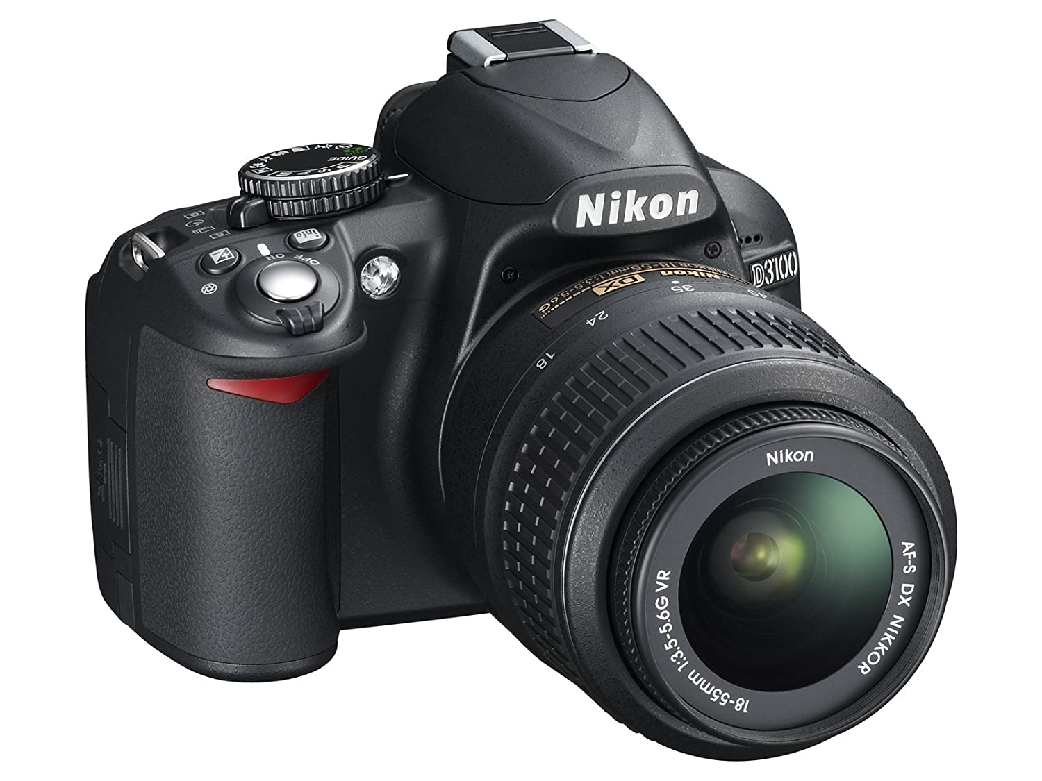 Amazon.com : Nikon D3100 DSLR Camera with 18-55mm f/3.5-5.6 Auto Focus-S  Nikkor Zoom Lens (Discontinued by Manufacturer) : Camera & Photo